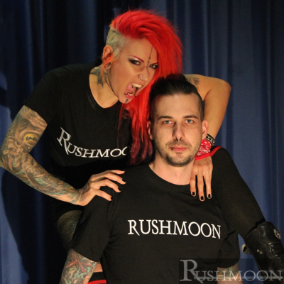 T-Shirt Rushmoon Logo
