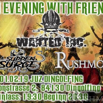 +++ Live im JuZ Dingolfing- An Evening With Friends +++