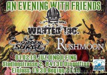 +++ Live im JuZ Dingolfing- An Evening With Friends +++